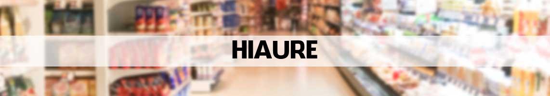supermarkt Hiaure